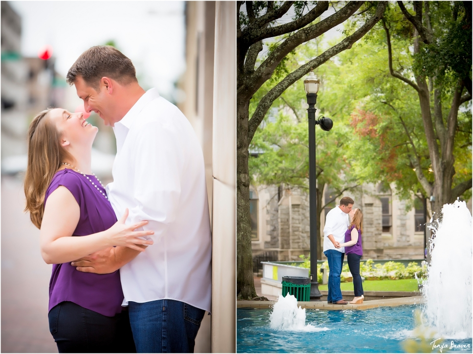downtown jacksonville engagement photos; jacksonville engagement photographer; tonya beaver photography003